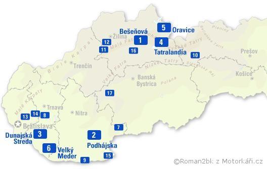 Mapa Termaly Na Slovensku Mapa