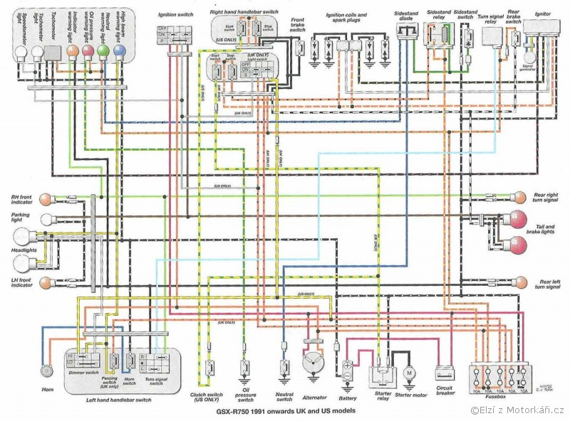Unique 05 Gsxr 600 Wiring Diagram Elaboration - Electrical Diagram ...